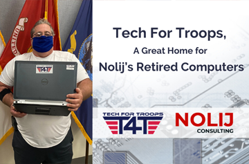 Tech For Troops, A Great Home for Nolij's Retired Computers