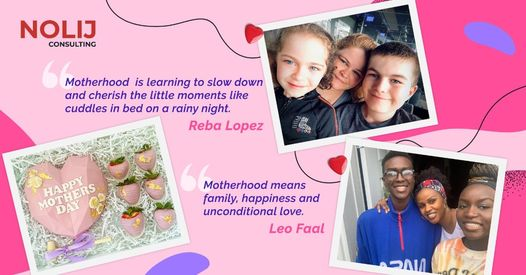 nolij celebrates mother's day